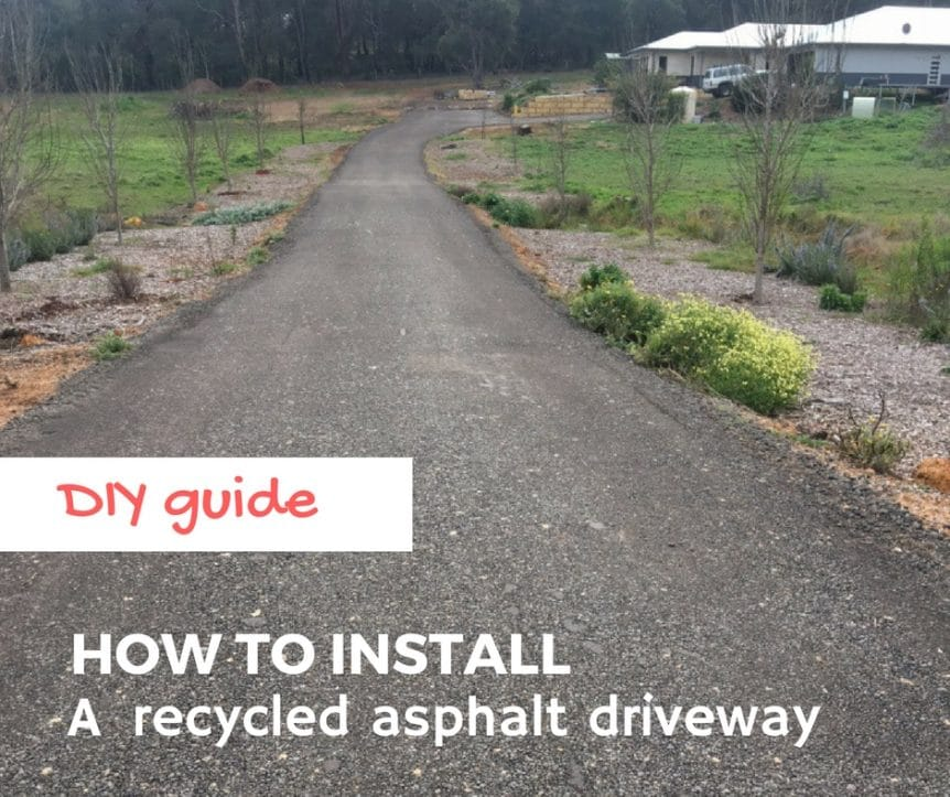 Diy guide how to install a recycled asphalt driveway diyers guide to installing a recycled asphalt driveway solutioingenieria Image collections